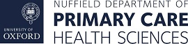 Logo of the University of Oxford - Nuffield Department of Primary Care Health Sciences